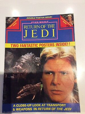 Return Of The Jedi Poster Magazine Issue 3
