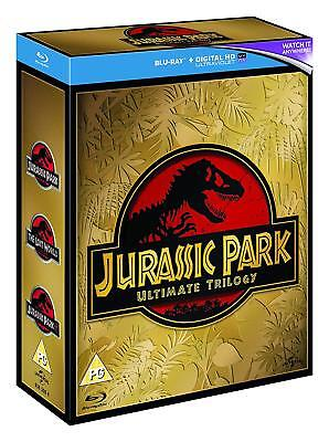 Jurassic Park Trilogy (Blu-ray, 3 Discs, Region Free) *NEW/SEALED*