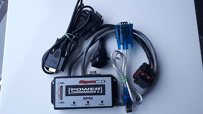 Suzuki GSXR Hayabusa Power Commander 2 complete kit with all cables and software
