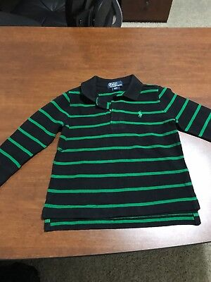 POLO RALPH LAUREN AUTHENTIC TODDLERS/KIDS BOYS Long Sleeves Polo Sz 2T