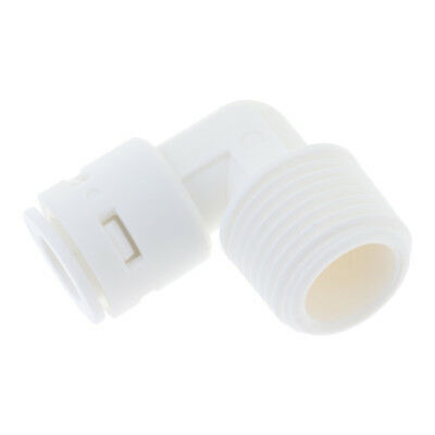 1/2 to 3/8'' Male Elbow Fitting Connector Connection Water Filters/RO System