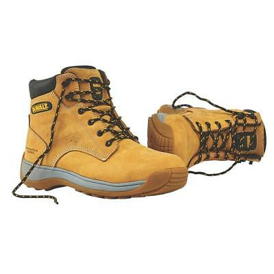 New Dewalt Bolster Leather Safety Steel Toe Work Boots Honey - Size 6 / Eu 40