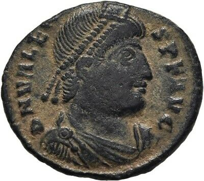 Lanz Rome Valens Ae3  Nummus Victory Securitas Wreath Thessalonica Ae  ±Mbr2274
