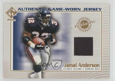 17ddb7903 2002 Pacific Private Stock Reserve Authentic Game-Worn Jersey  7 Jamal  Anderson