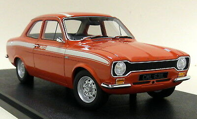 Cult 1/18 Scale -  Ford Escort Mk1 Mexico 1973 Red Resin model car