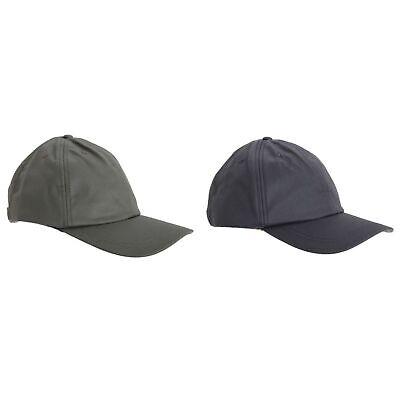 Tom Franks Mens Adjustable Waxed Cap (C281)