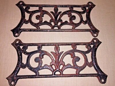 Antique Cast Iron Two Grate Vent Covers