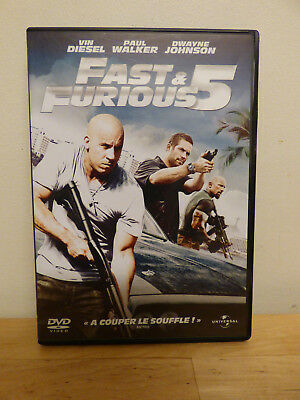 Dvd Fast & Furious 5 - Vin Diesel / Paul Walker / Dwayne Johnson