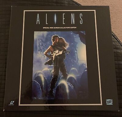 Aliens Special Widescreen Collectors Edition Laser Discs