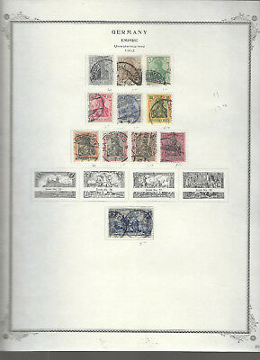 Classic GERMANY...#65C//79...Used...1902...11 Diff...SCV $17.40