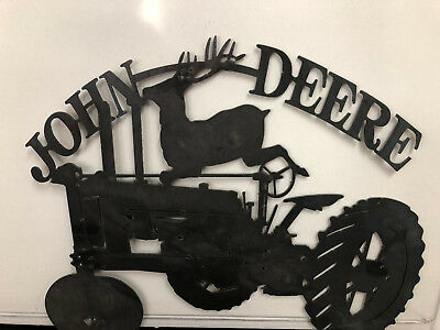 metal wall art- John Deere