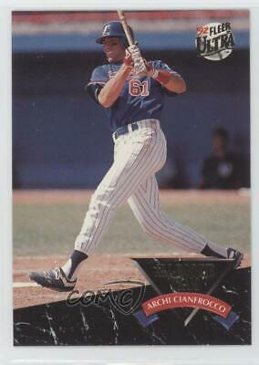 1992 Fleer Ultra All Rookie Team 4 Archi Cianfrocco Montreal Expos Baseball Card