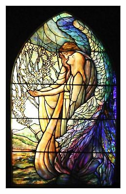 Art Nouveau Guiding Angel Louis Comfort Tiffany Counted Cross Stitch Pattern