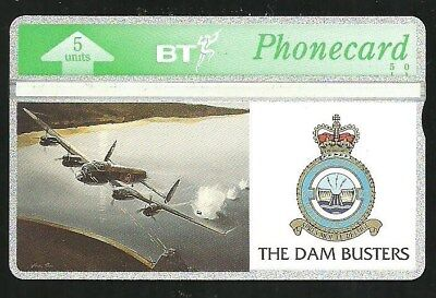 Btg084 The Dam Busters Mint Bt Phonecard Catalogue £25