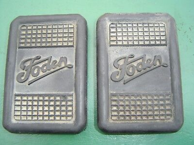 Vintage Foden Brake Pedal Rubbers Lorry Truck