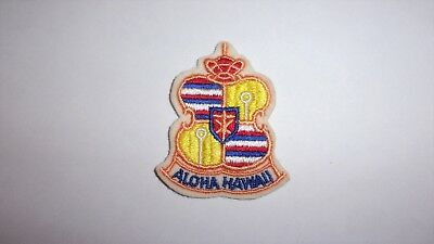 Never Used Vintage Aloha Hawaii Travel/souvenir Badge Or Patch