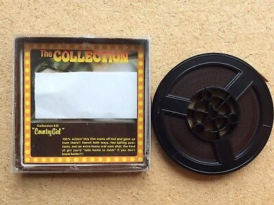 "vintage standard 8mm glamour film ""THE COLLECTION-COUNTRY GIRL"" complete + box"