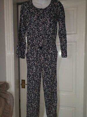 Girls Mantaray Debenhams Age 13 Years Jumpsuit Blue