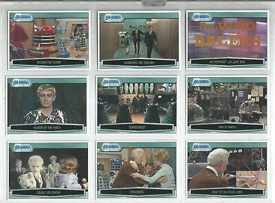Dr Who The Dalek Collection Set Of 45 Cards And Dvd Slipcase