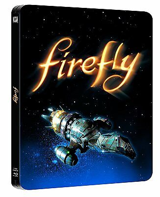 Firefly - The Complete Series : VERY rare Limited Edition Steelbook 3-Disc BluRa