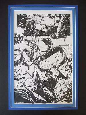 Captain America & Hawkeye #630 - (Original Art) Splash Page 4 - Alessandro Vitti
