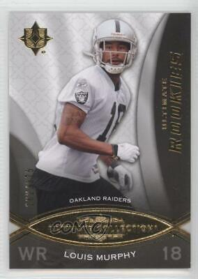2009 Upper Deck Ultimate Collection/375 #161 Louis Murphy Oakland Raiders Rookie