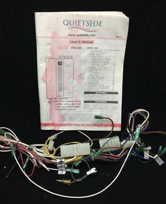 quietside - tankless water heater isolation valves kit w/ relief