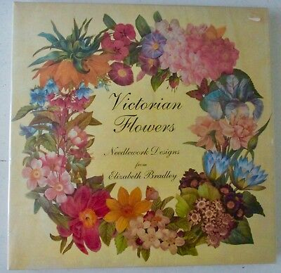 "Victorian Flowers ~ ""spring"" Tapestry Kit ~ Elizabeth Bradley ~ New/unused"