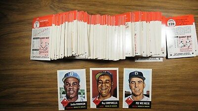 1991 Topps Archives Baseball 1953 Reprint Series - Complete Set of 330