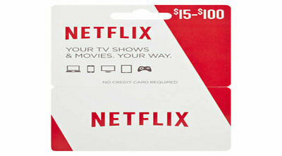 Netflix Gift Cards - DISCOUNTED!!🔥🔥
