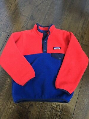 Patagonia Snap T Synchilla Pullover Size 5t