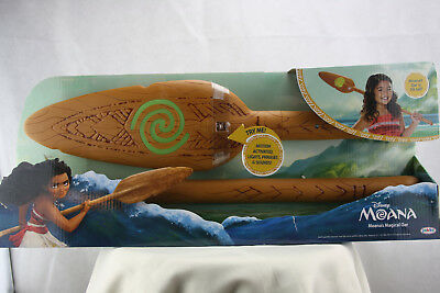 Disney Moana Magical Oar 3 Ft Tall Motion Activated, Lights, Phrases, & Sounds