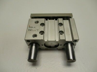 Smc Mgpm32-25 Compact Guide Cylinder * Used *