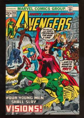 Avengers (1963 series) #113 in Very Fine + condition. Marvel comics [*82]