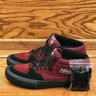 e3f66cd661 VANS HALF CAB Pro Cabernet Black Shoes Size Men 11 -  61.70