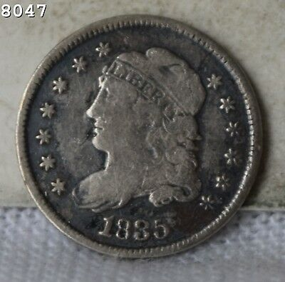 1835 Capped Bust Half Dime *Free S/H After 1st Item*