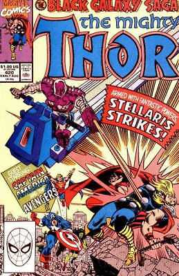 Thor (1966 series) #420 in Near Mint minus condition. Marvel comics [*9k]