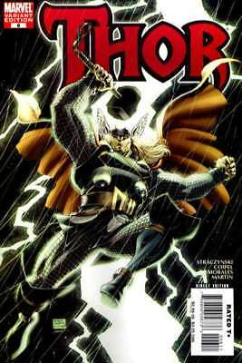 Thor (2007 series) #6 Variant in Near Mint + condition. Marvel comics [*bc]