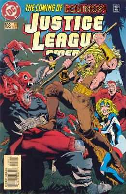 Justice League (1987 series) #108 in Near Mint condition. DC comics [*qt]