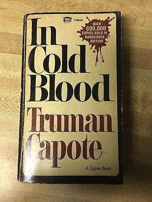 In Cold Blood by Truman Capote 1965 Signet PAPERBACK