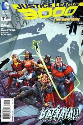 Justice League 3000 #7 in Near Mint + condition. DC comics [*rc]