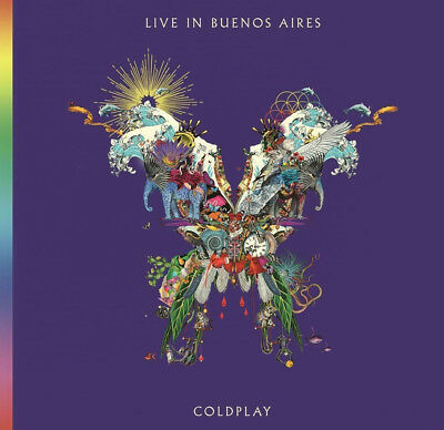 COLDPLAY - LIVE IN BUENOS AIRES 2xCD (Brand new 2018 CD)