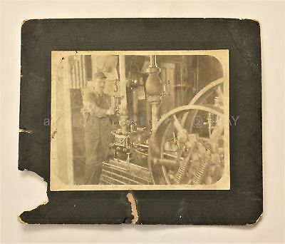 antique PHOTOGRAPH id'd DAD SHUP BORDEN MINE at TRABUCO CANYON orange county
