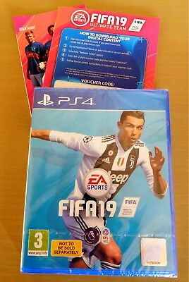 FIFA 19 Playstation PS4 NEW & SEALED with Ultimate Team Code