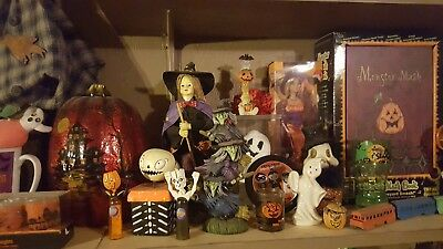 HALLOWEEN HORROR variety box! Skulls Pumpkins Monsters! Please read!!