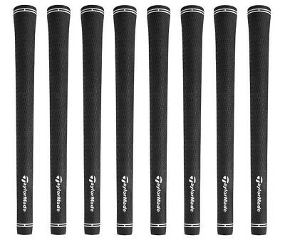 8 NEW TaylorMade Golf Pride Tour Velvet Black Standard Size 58R Grips
