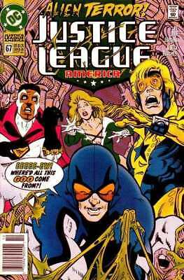 Justice League (1987 series) #67 in Near Mint + condition. DC comics [*qu]