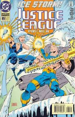Justice League (1987 series) #85 in Near Mint + condition. DC comics [*ss]