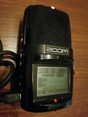 Zoom H2n Handy Portable Digital Audio Recorder With 16 GB Card and USB Cable