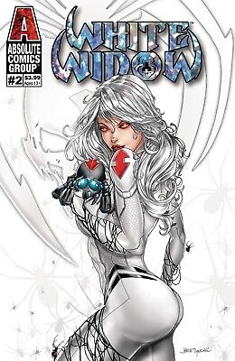 White Widow #2 Foil Cover A Variant Tyndal *hot* Red Giant Comic Book Preorder 1